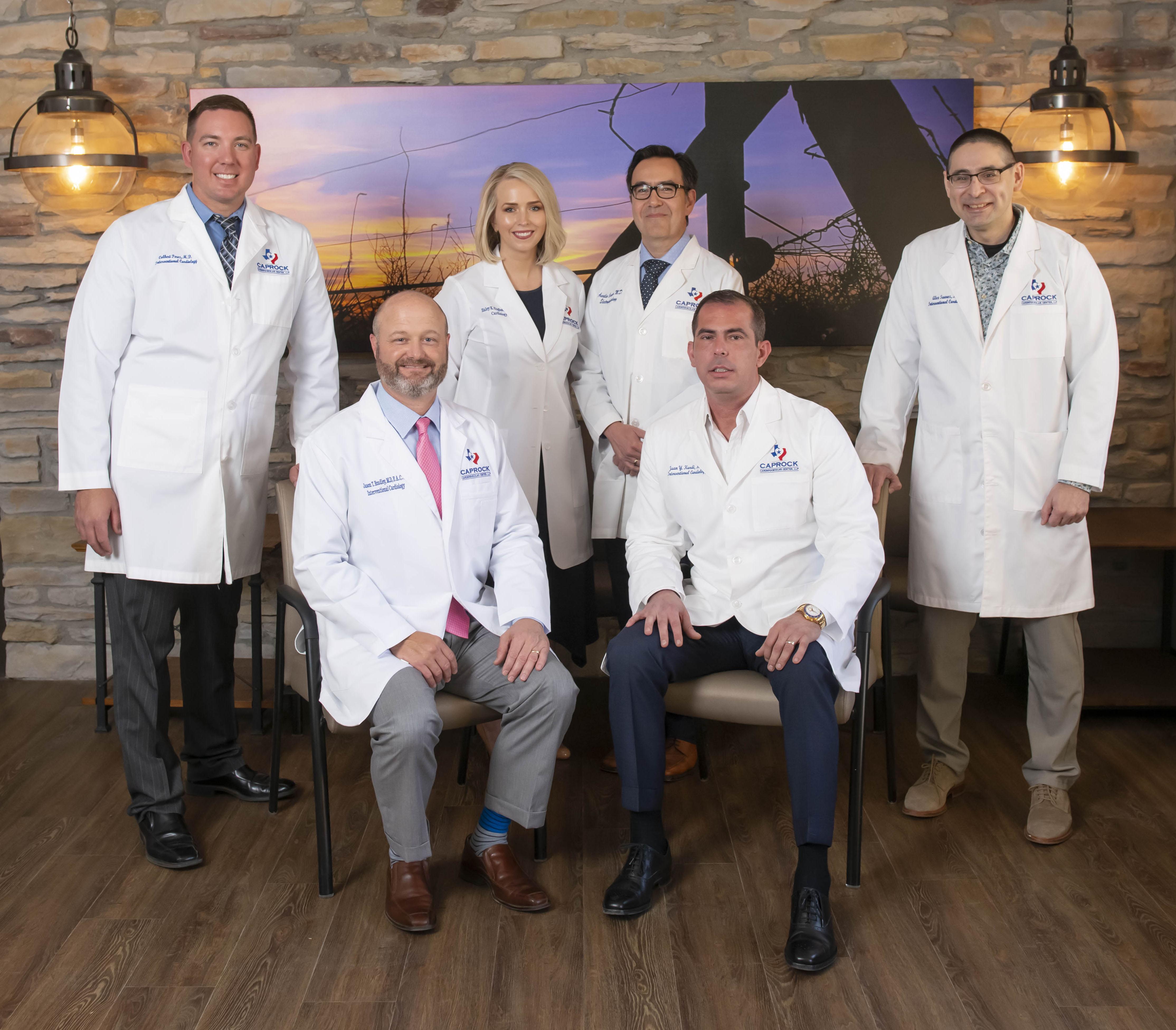 Caprock Cardio Cath Lab Staff